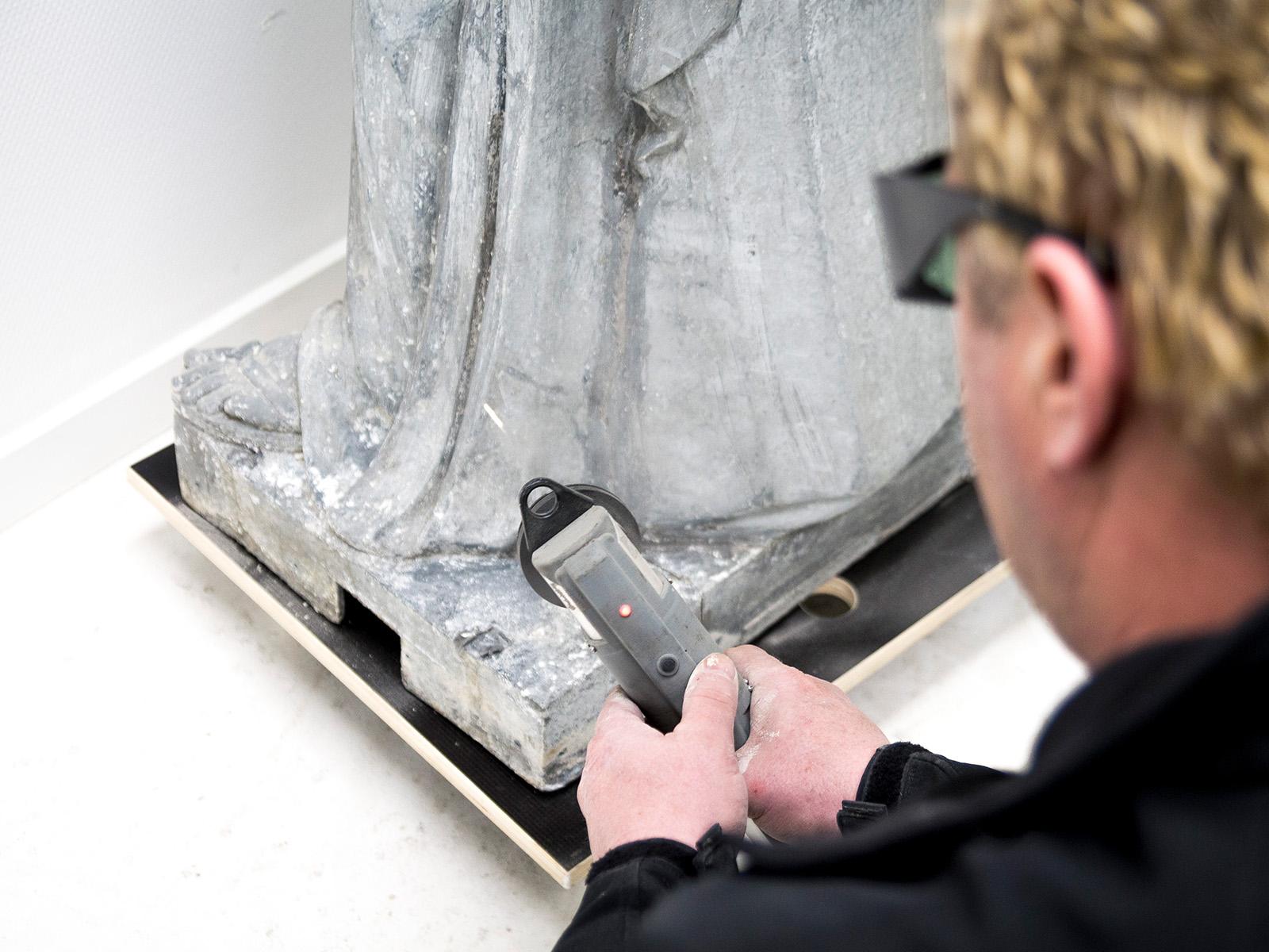 Ganz und zu Extrem Laser reiniging - De Vink Restauratiewerken : De Vink @KL_69