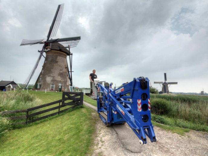 Molen restauratie werelderfgoed Kinderdijk. De Vink Restauratiewerken