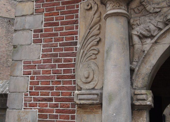 Voegwerk en natuursteen restauratie Gouda