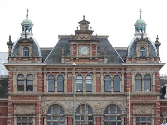 Restauratie Koninklijk Paviljoen stationH S Den-Haag