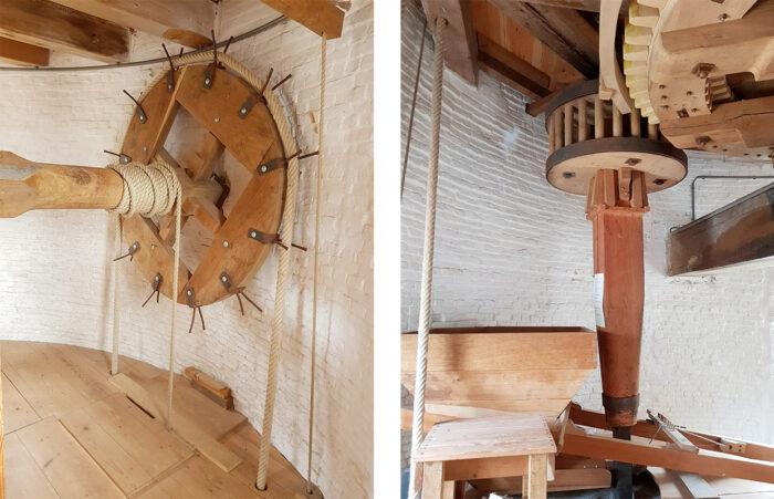 restauratie molen binnenwerk